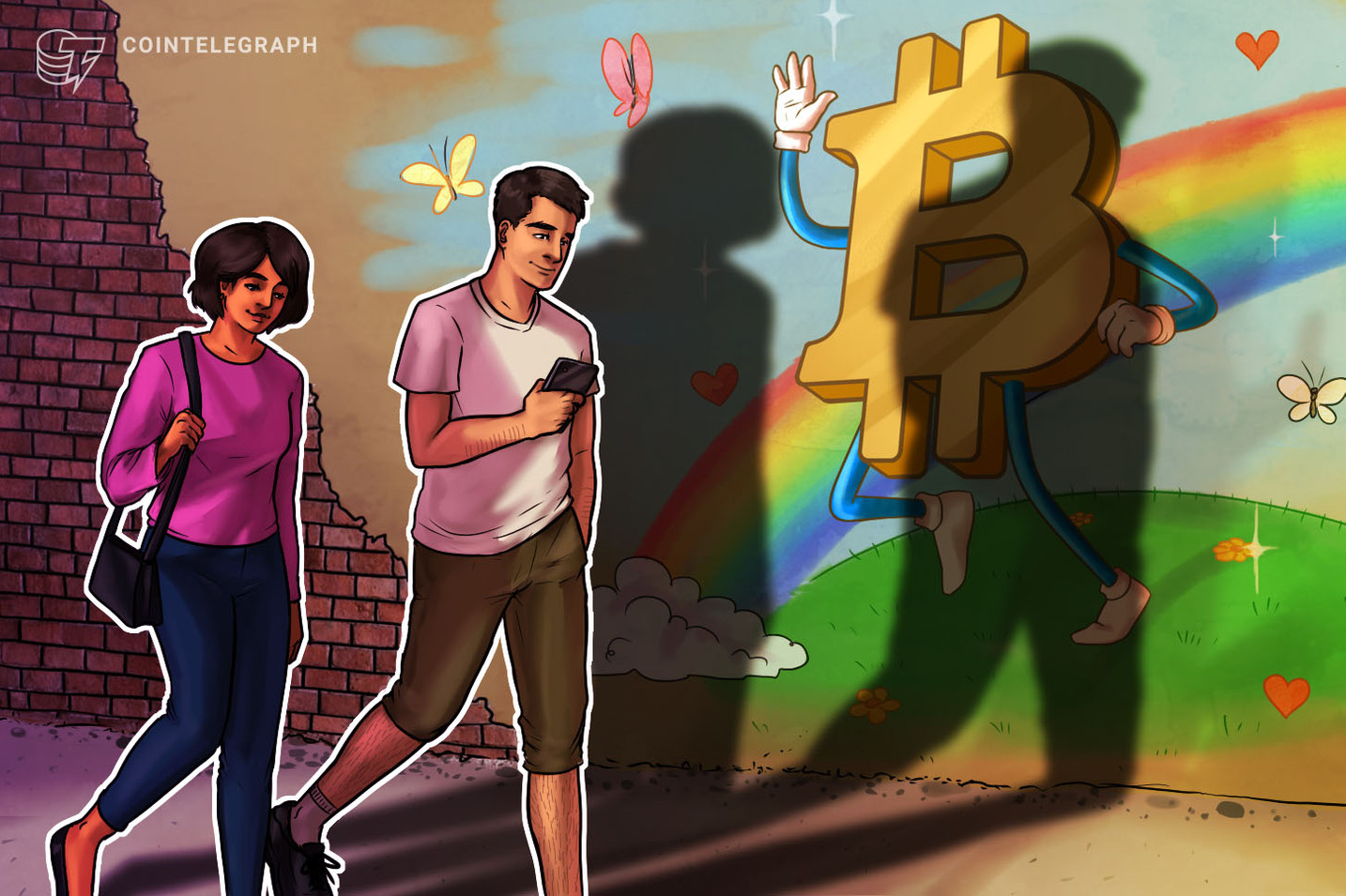 A New Guerrilla Marketing Campaign Aims to Create Bitcoin Awareness