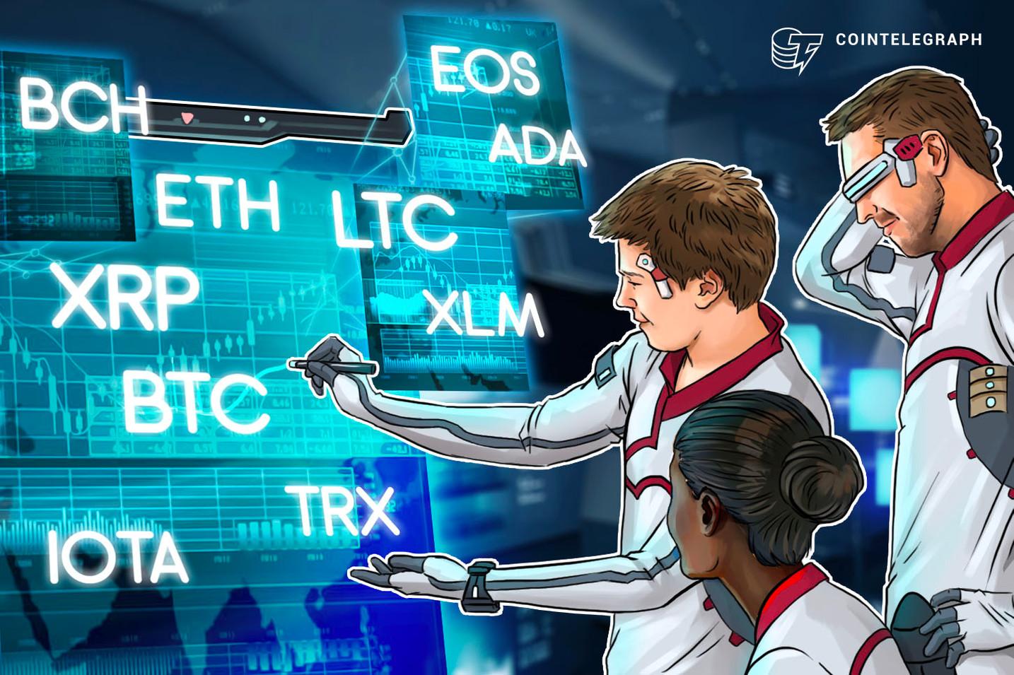 Bitcoin, Ethereum, Ripple, Bitcoin Cash, EOS, Litecoin, Cardano, Stellar, IOTA, TRON: Price Analysis, July 23