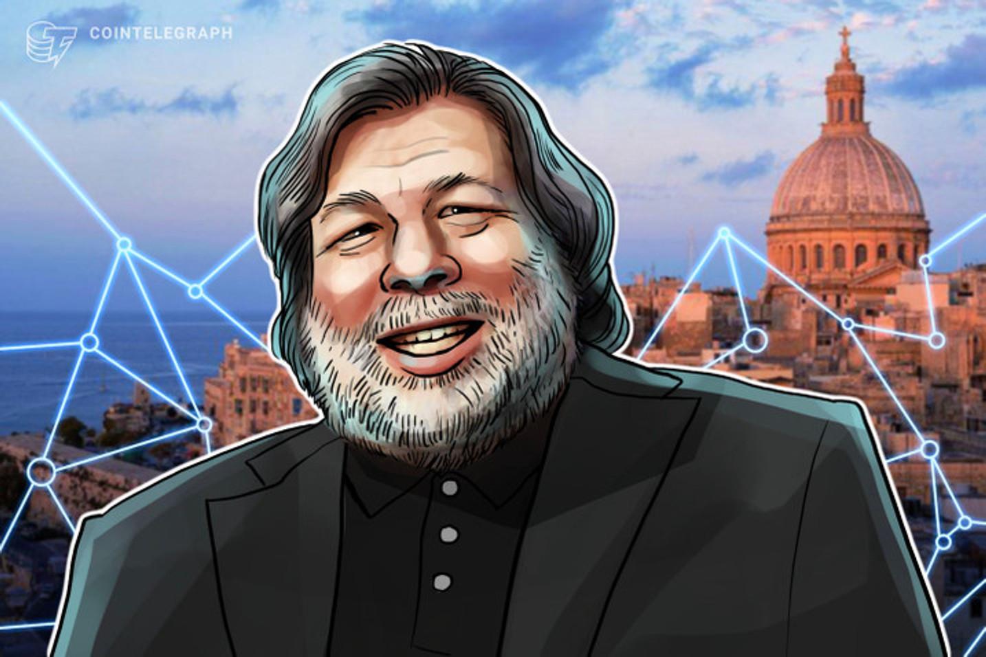 Fundador da Apple, Steve Wozniak lança sua própria criptomoeda