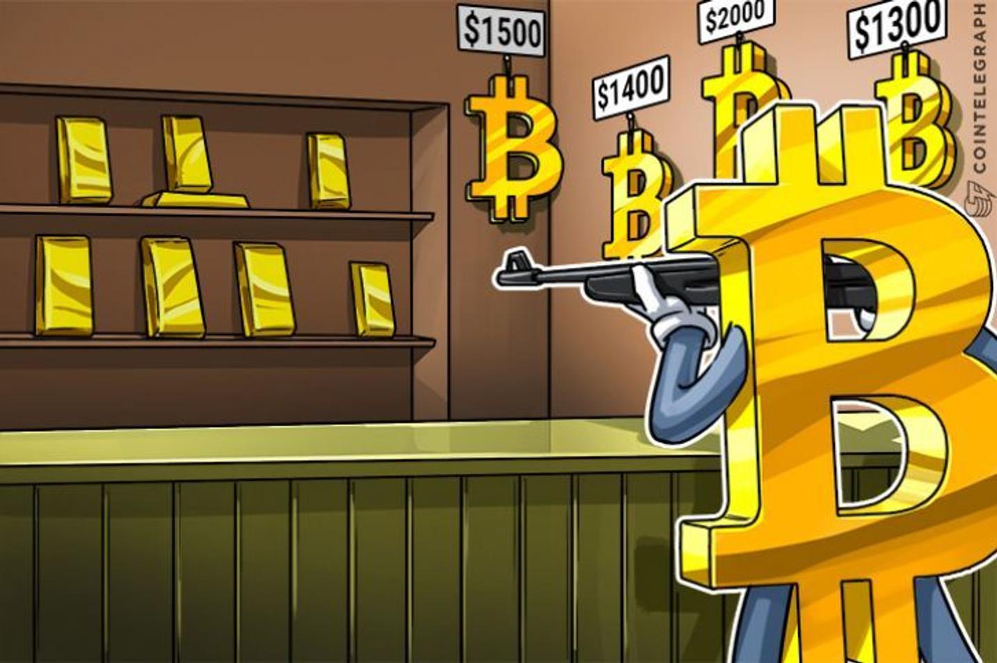 安全資産としての地位を失いつつある金―暗号通貨や金融政策が要因か
