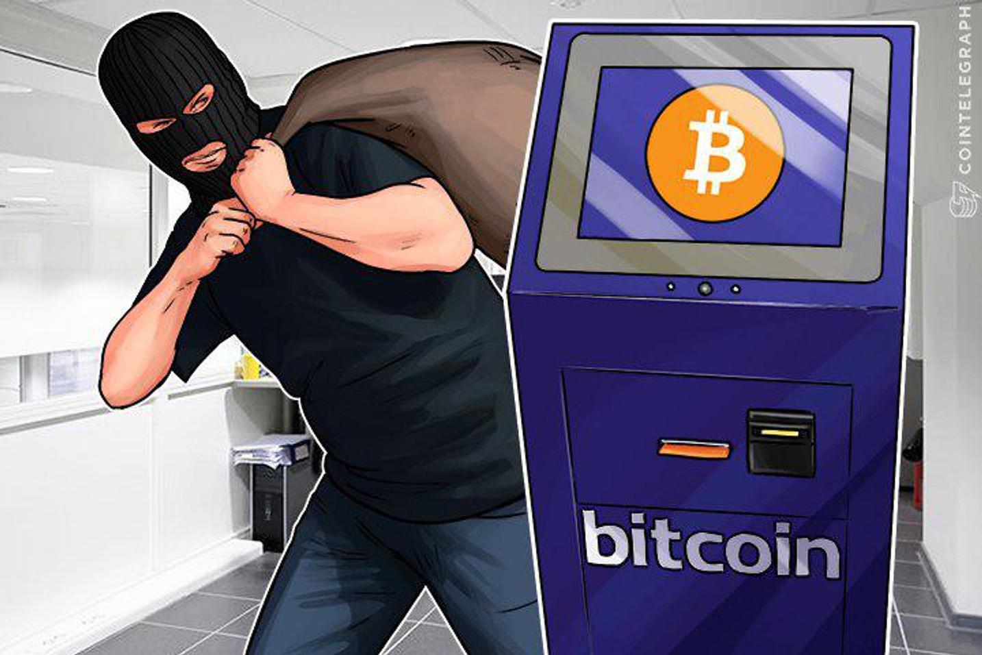 """Diebe stehlen Bitcoin-Geldautomaten im Schweizer """"Crypto Valley"""""""