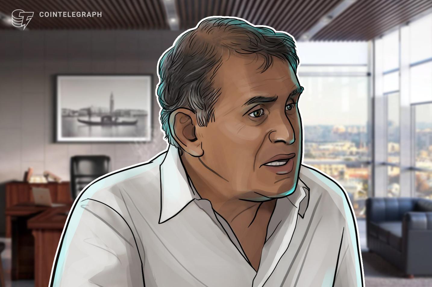 Nouriel Roubini auf der Salt Conference in New York: Krypto ist die Mutter und der Vater aller Blasen