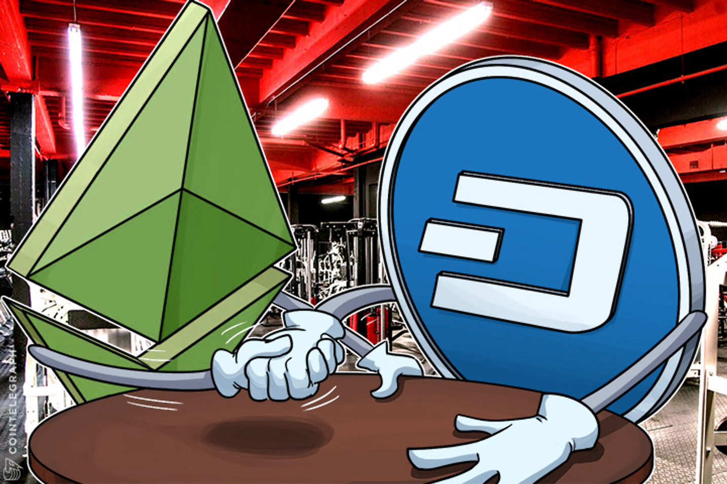 Epic Battle of Dash vs. Ethereum Classic Not Over Yet: Charles Hoskinson
