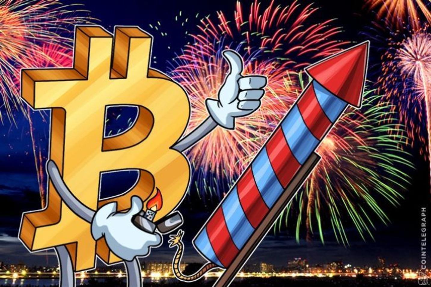 速報:ビットコイン高値更新、米CMEのビットコイン先物のローンチ発表直後