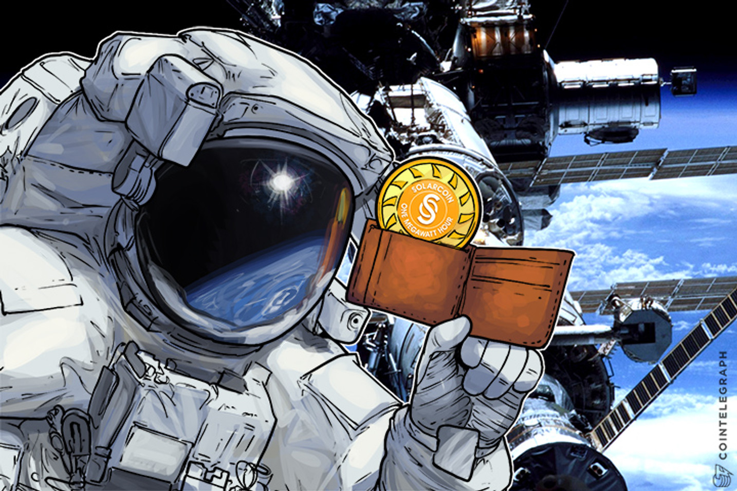 Solar Energy Producers To Get Blockchain-Based Currency Wallets in Space