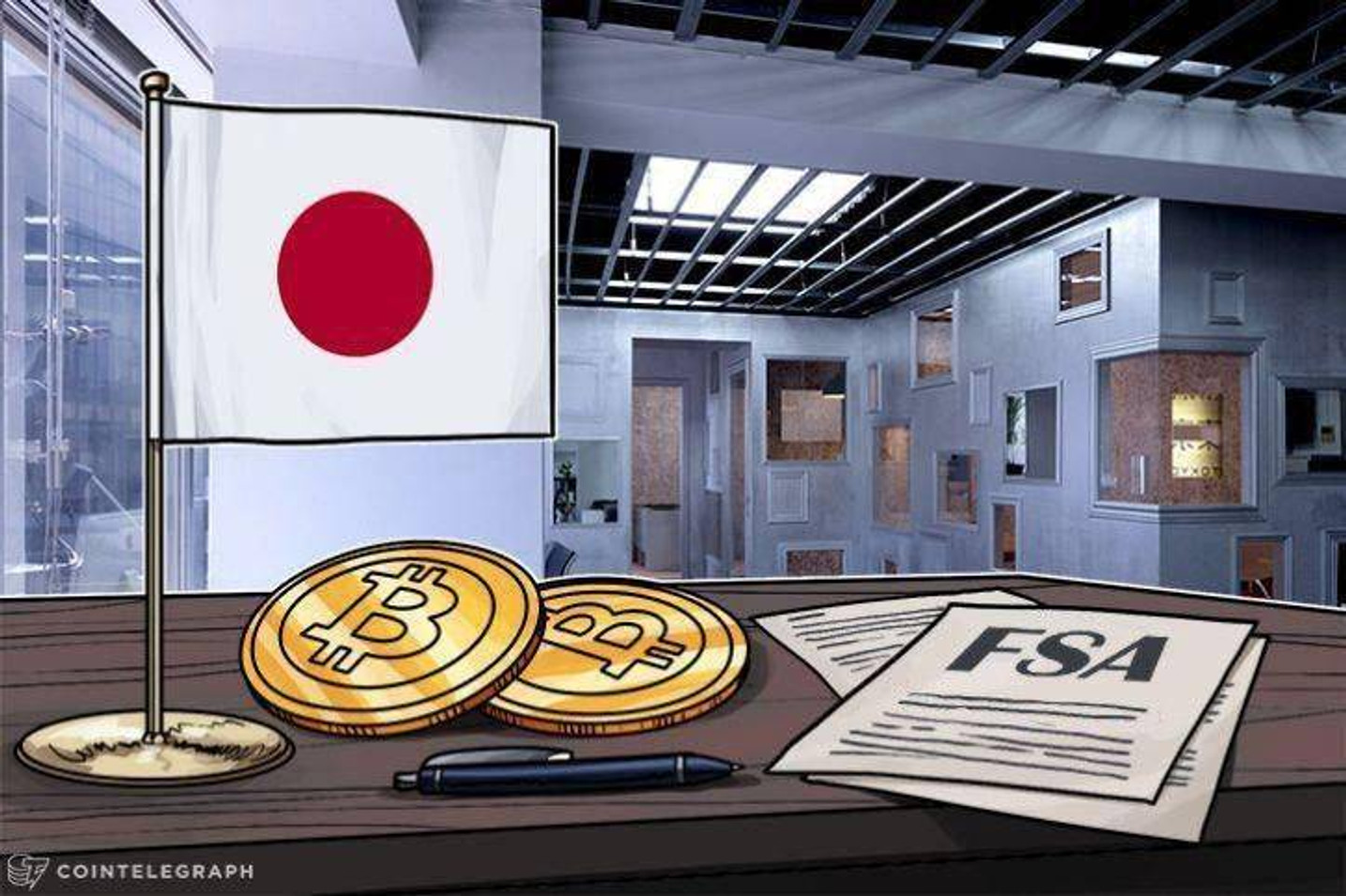 El intercambio de criptomonedas Japones Everybody's Bitcoin recibe una cita de los reguladores financieros
