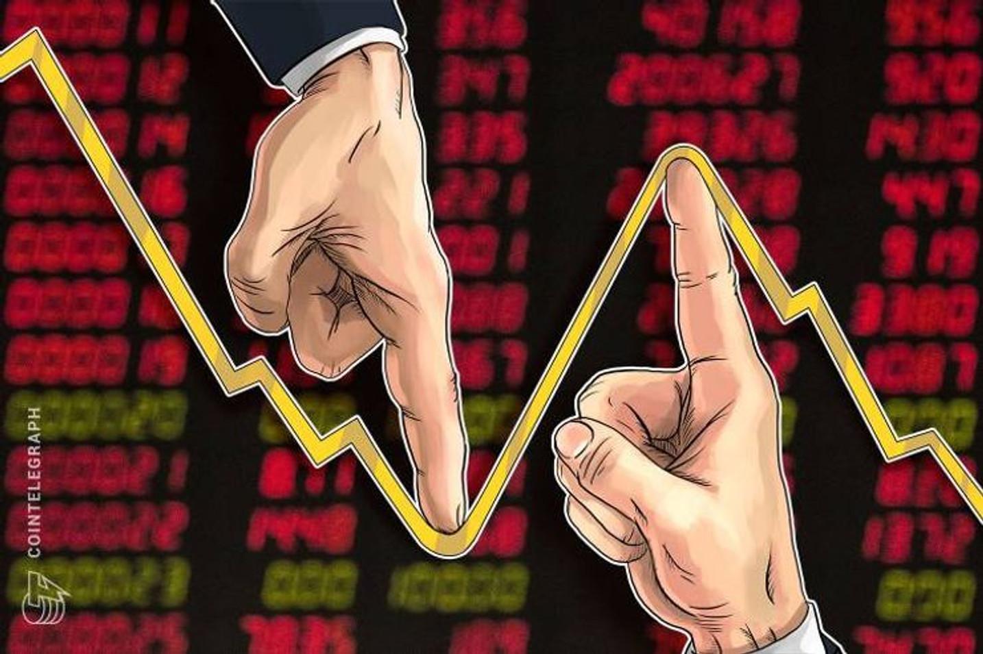 世界同時株安に歯止めか、日経平均と仮想通貨ビットコイン市場はやや回復