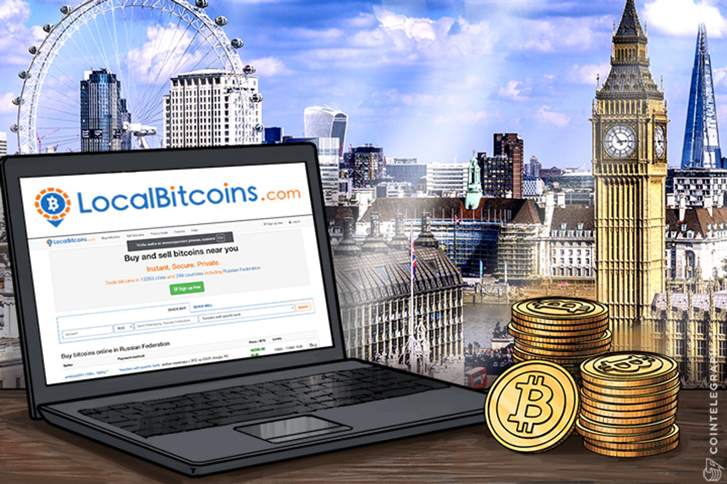 LocalBitcoins Halves UK Bitcoin Trading Fees To Help Users Get Out Of The Pound
