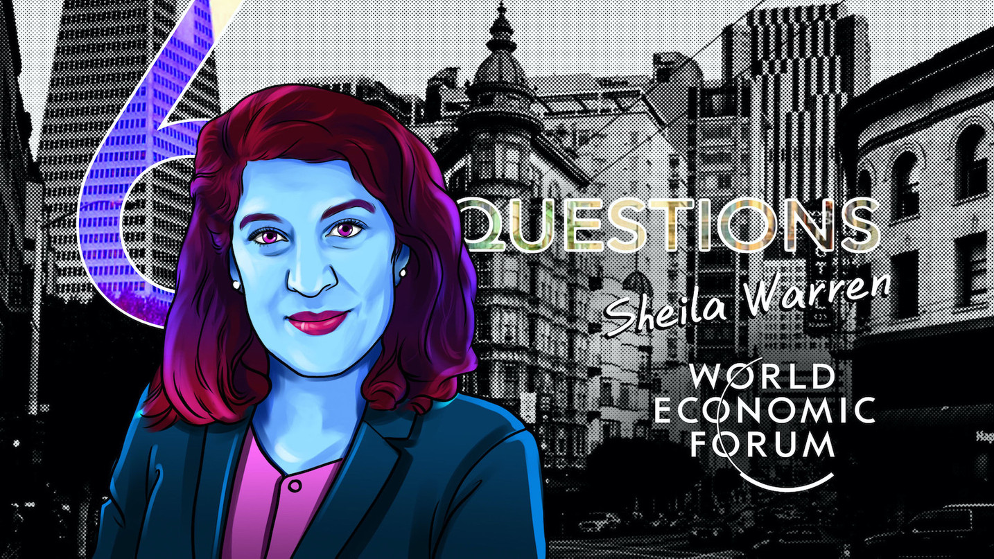 6 domande per Sheila Warren del World Economic Forum