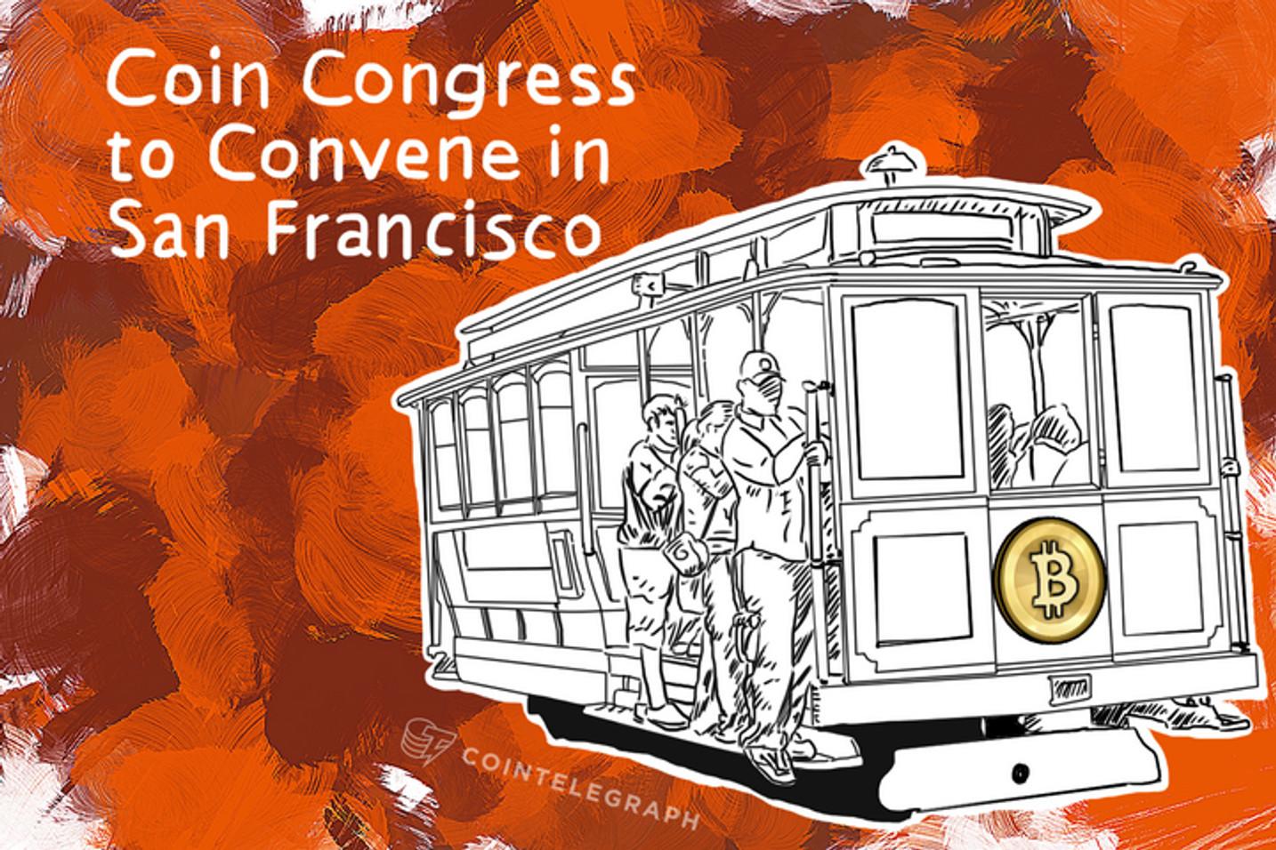 Coin Congress to Convene in San Francisco