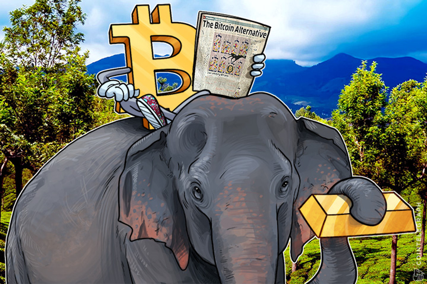 Indian Mainstream Media Covers Bitcoin Actively Amid Gold Confiscation