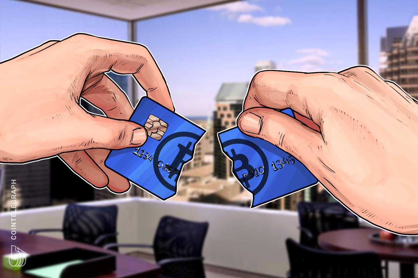 米仮想通貨取引所コインベース対応のビットコインデビッドカード 4月にサービス停止
