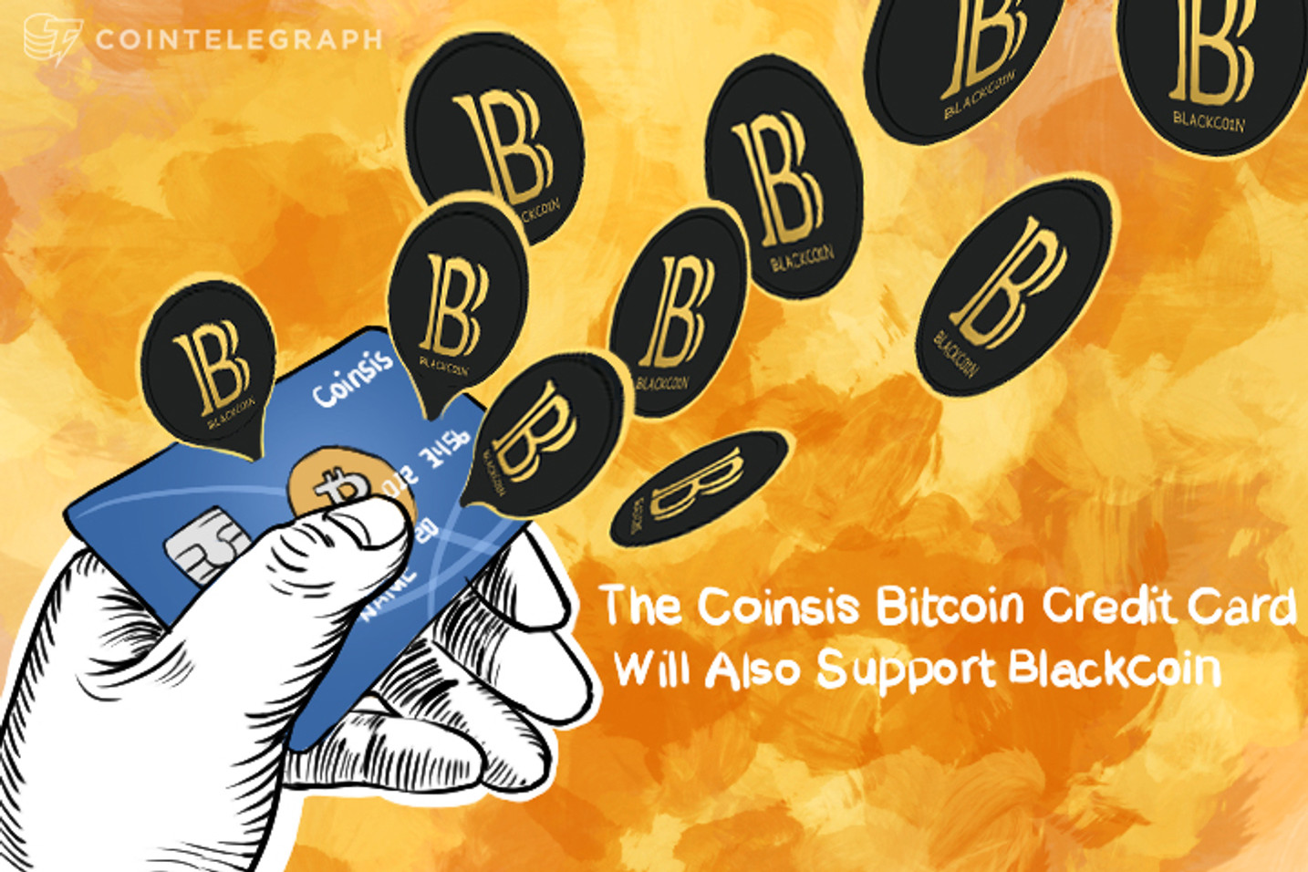 The Coinsis Bitcoin Credit Card Will Also Support Blackcoin