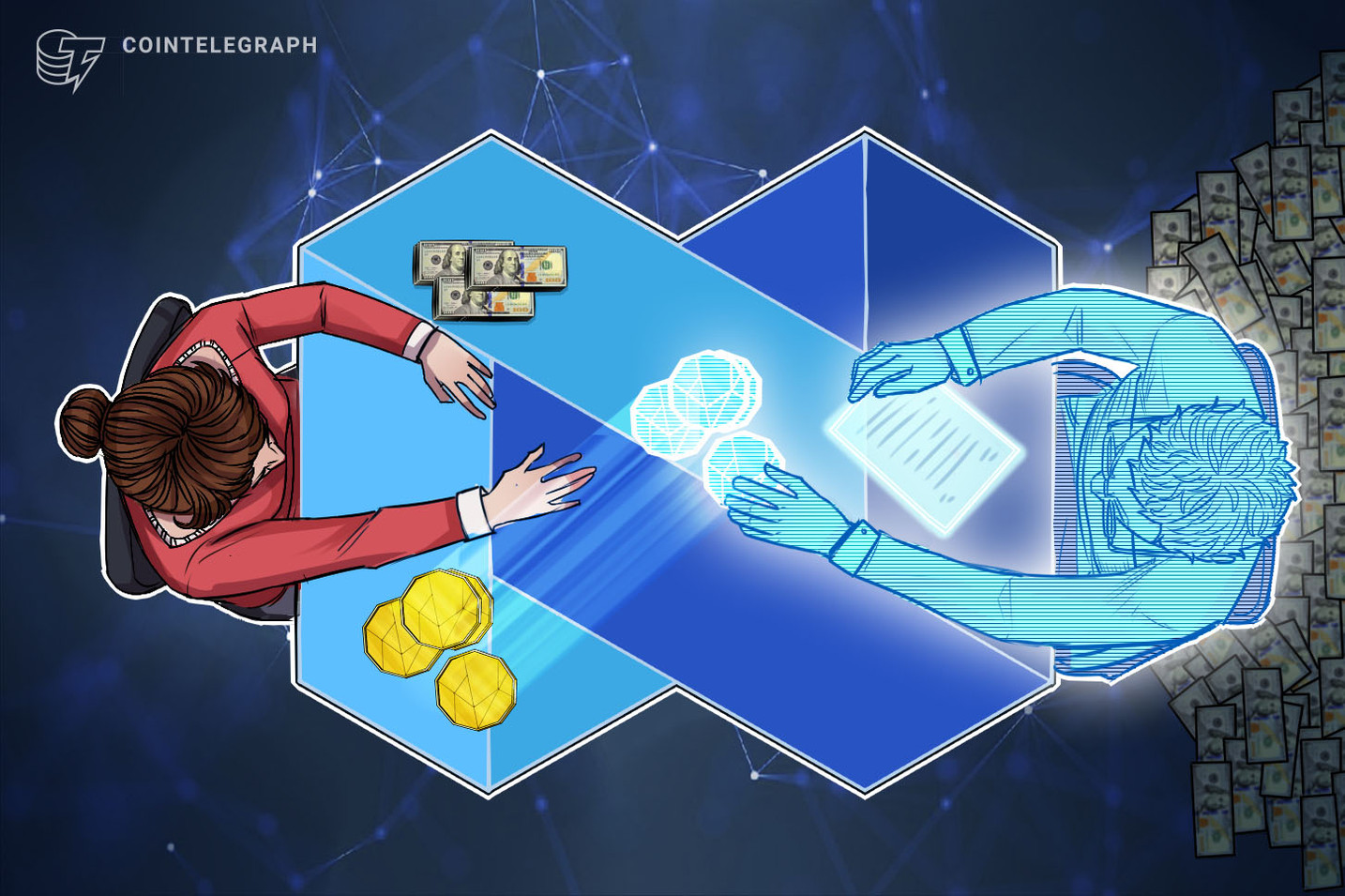 Instant Crypto Credit Line Provider Says It Processed $300 Million in Seven Months