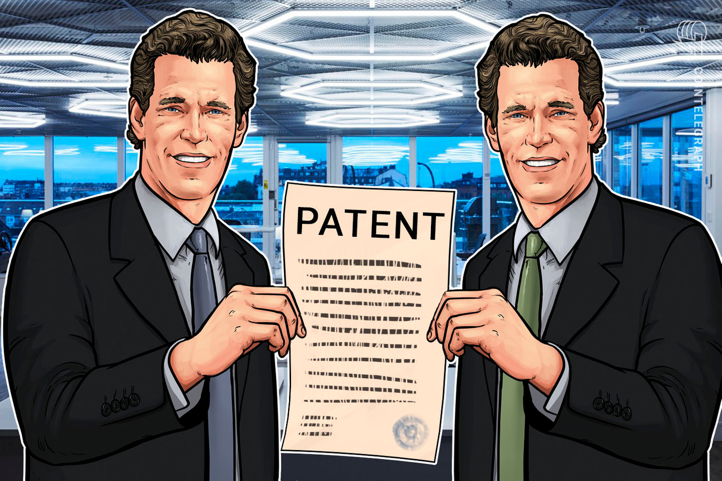 Winklevoss Twins' Company Files New Patent for Securely Storing Digital Assets