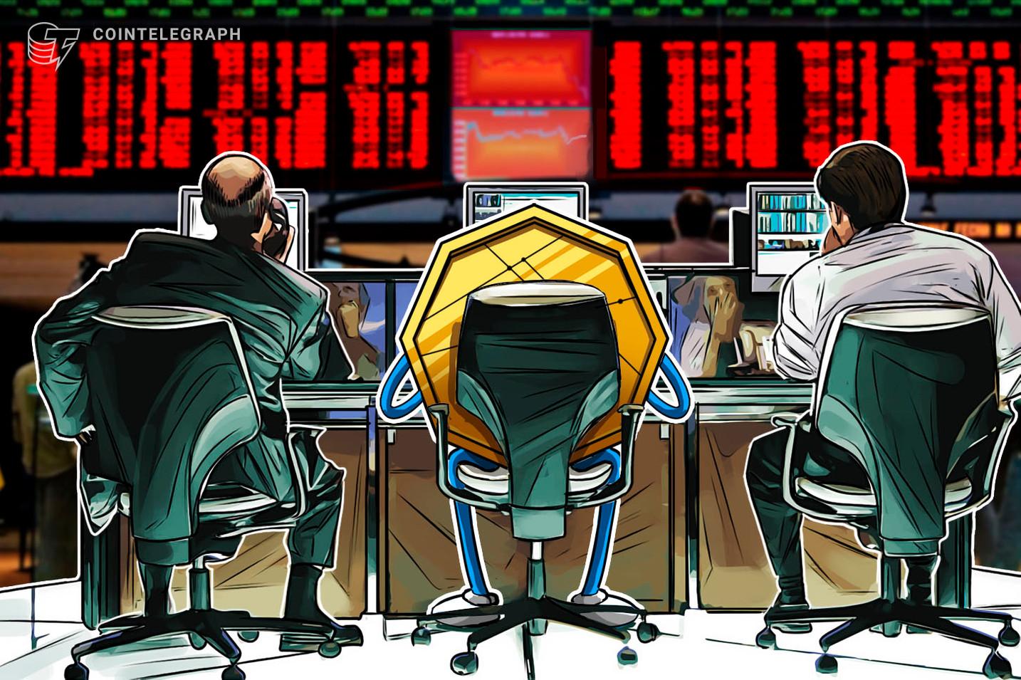 Kryptomärkte mit Verlusten, Bitcoin pendelt sich bei 11.000 US-Dollar ein