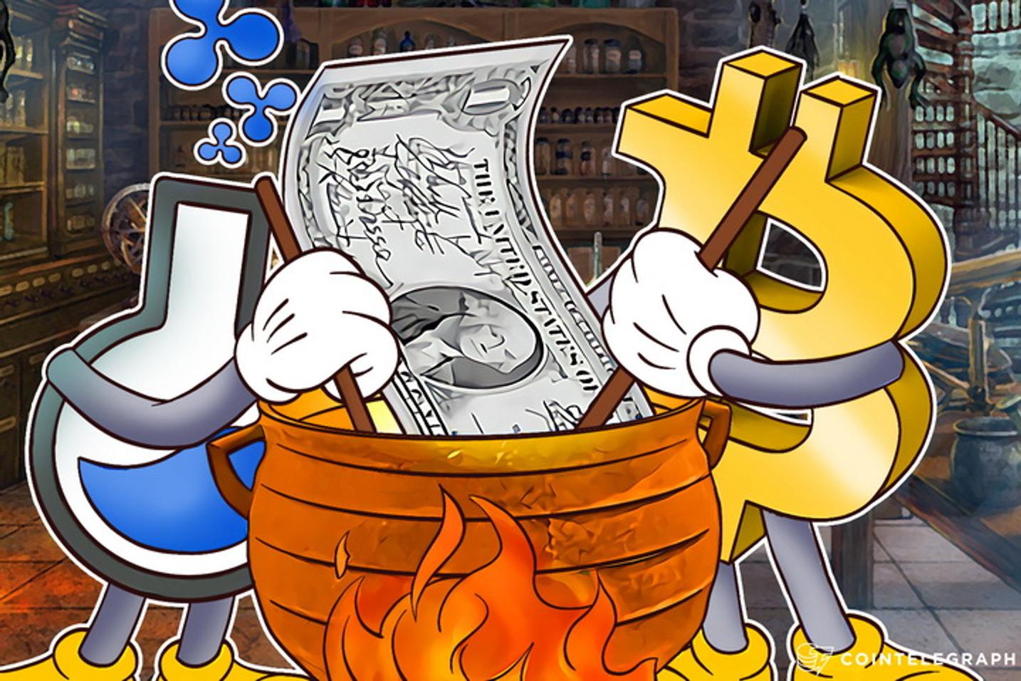 How Bitcoin Blockchain and Ripple May Help Kill U.S. Dollar
