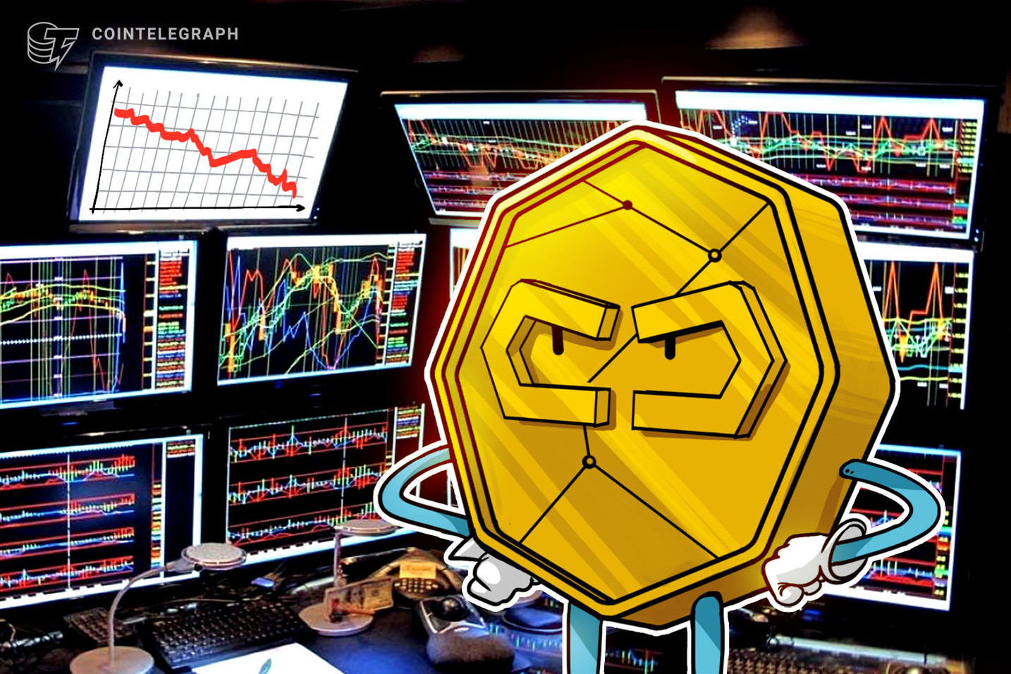 Crypto Rankings' Shake-Up Follows Yesterday's Market Crash as Bitcoin Stays Around $3,400