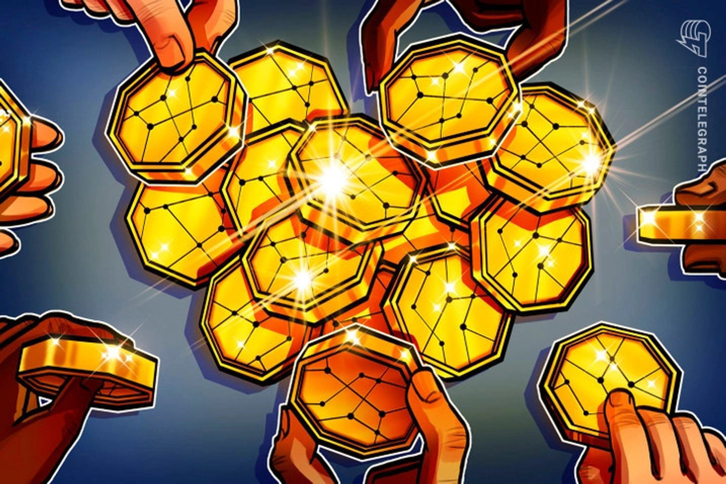Maiores rodadas de investimentos em empresas de criptomoedas e blockchain...até agora