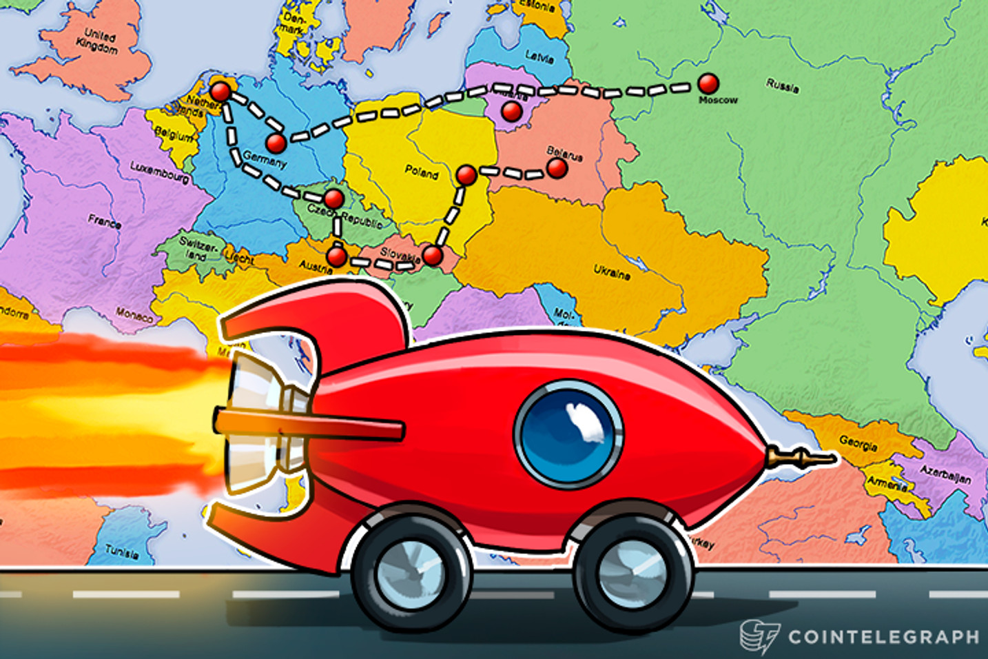 Bitcoin on Wheels: How We Took Part in European Bitcoin Tour