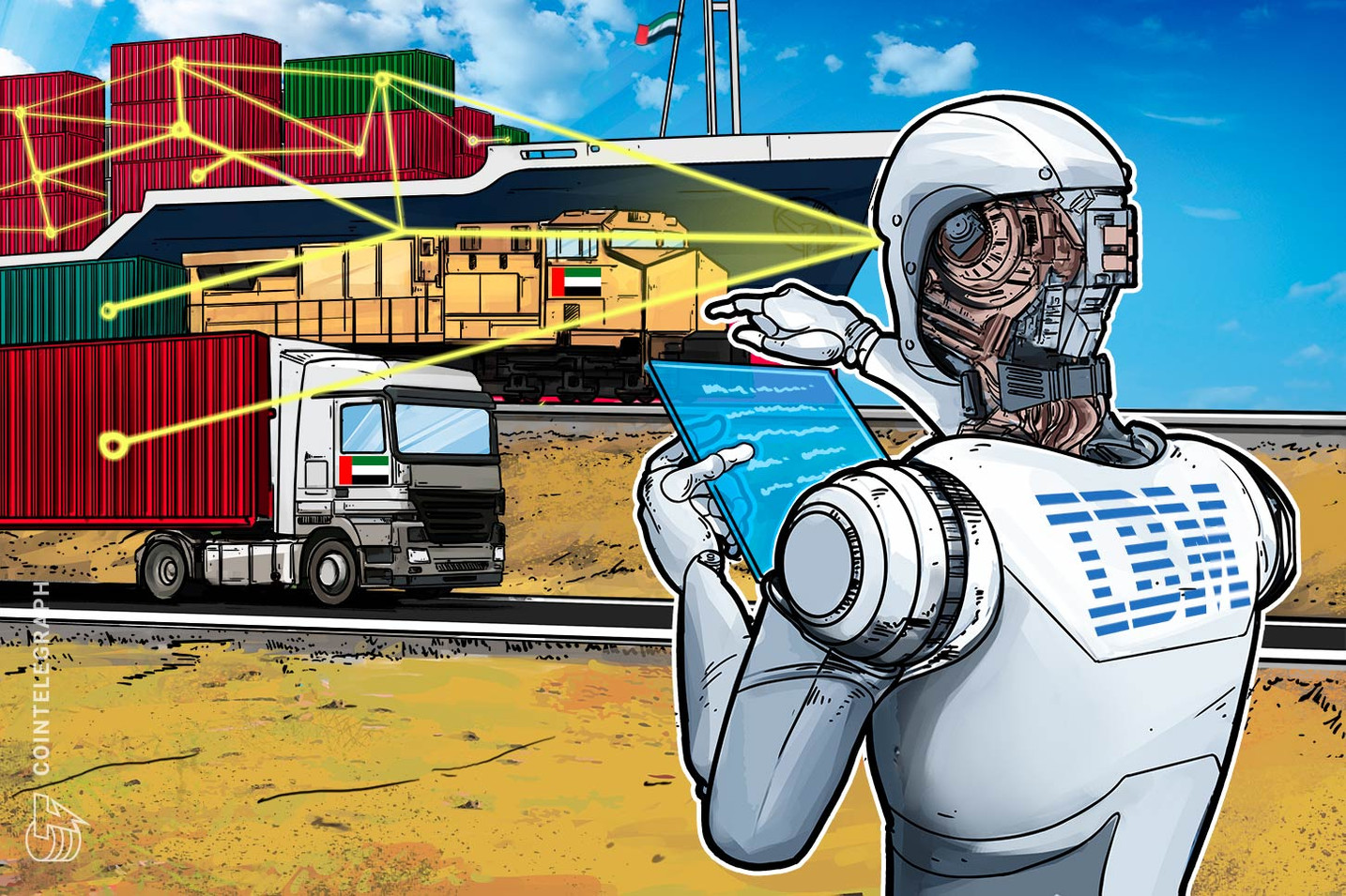 IBM Partners with Abu Dhabi National Oil Company for Blockchain Supply Chain System