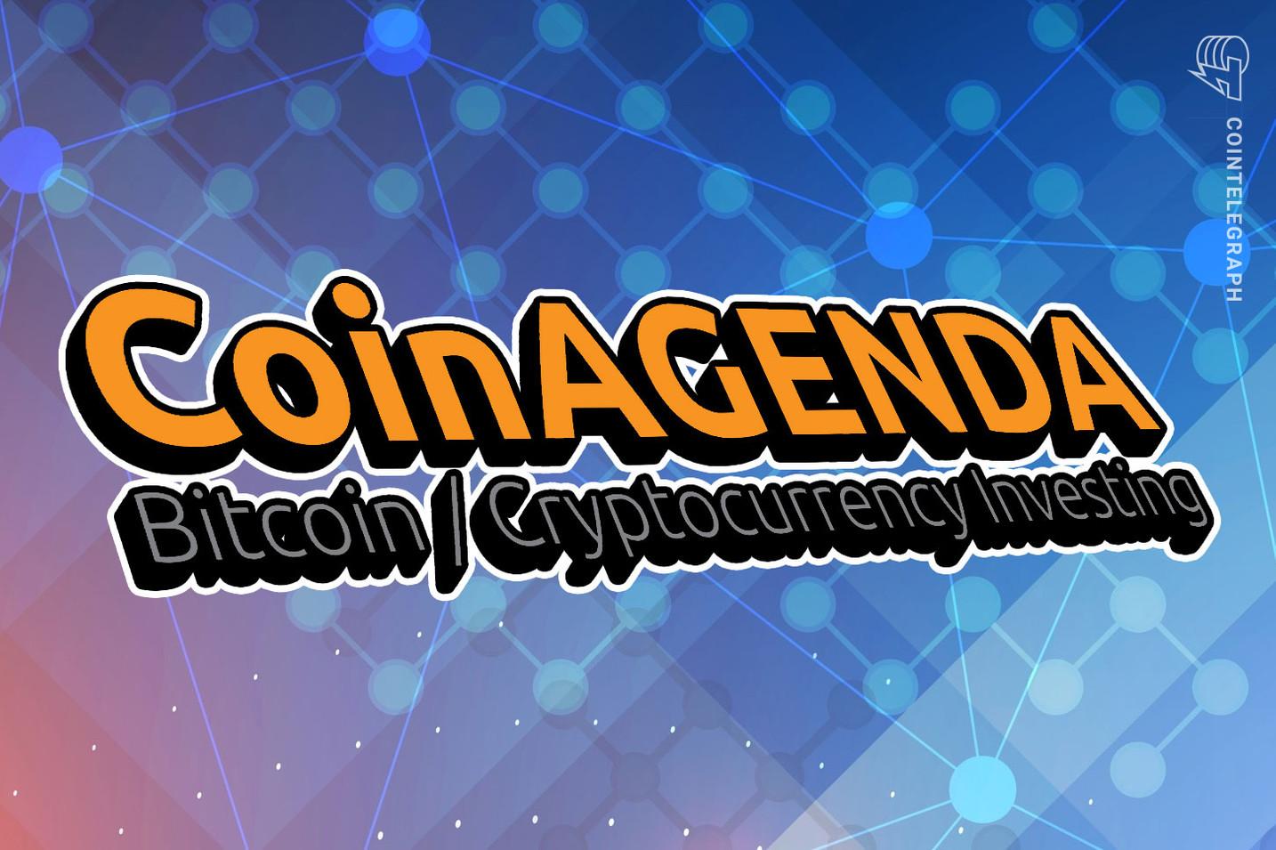CoinAgenda hosts crypto investor virtual event on Oct 28-29