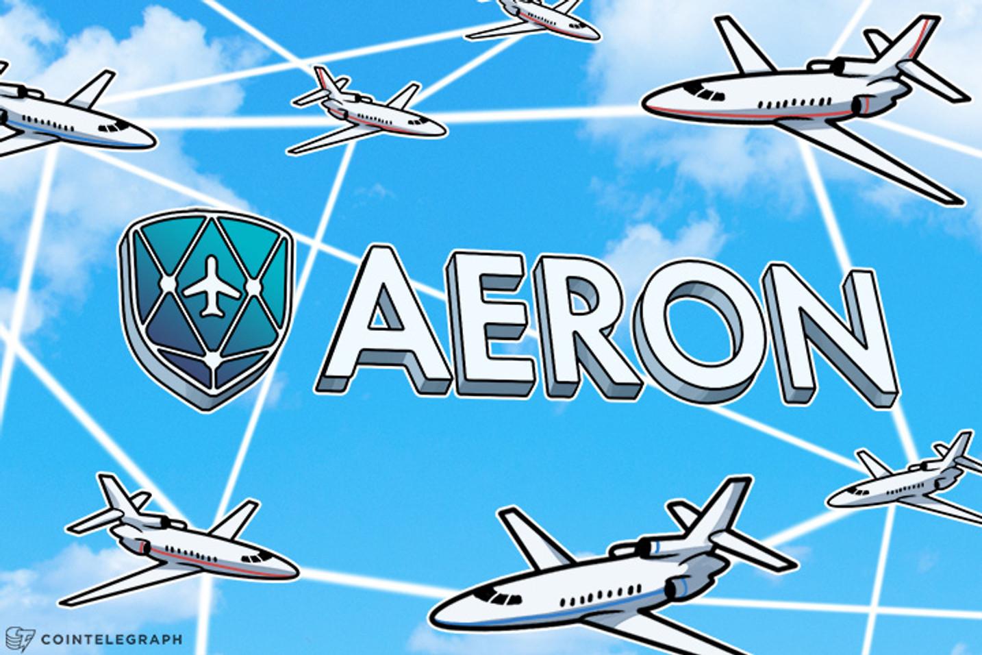 Aeron Leverages Blockchain Tech for Safer Flights