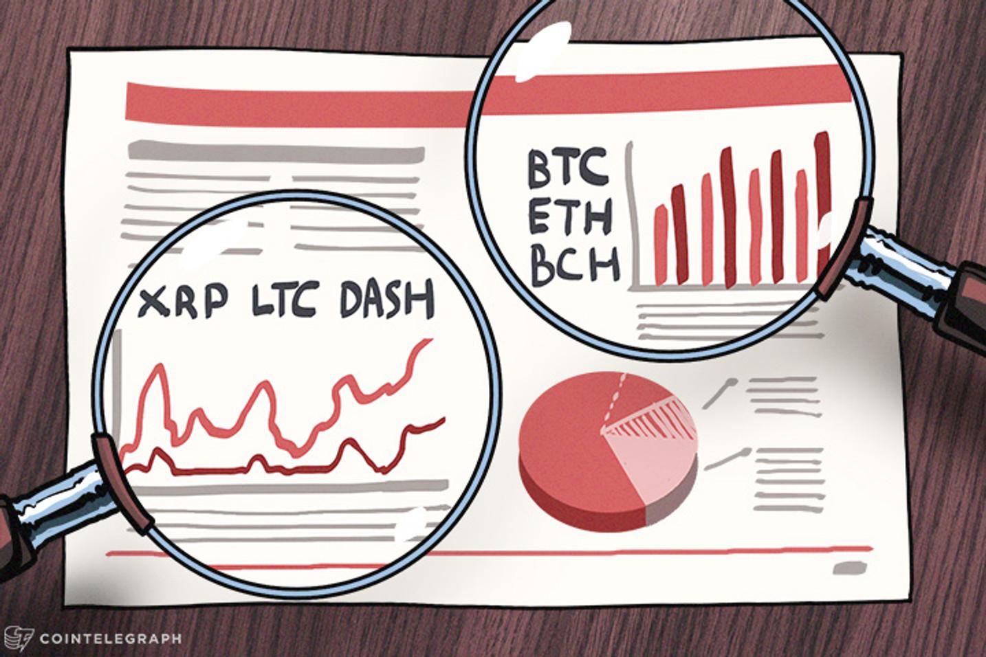 Análisis de precios, 06 de diciembre: Bitcoin, Ethereum, Bitcoin Cash, Ripple, Litecoin, Dash