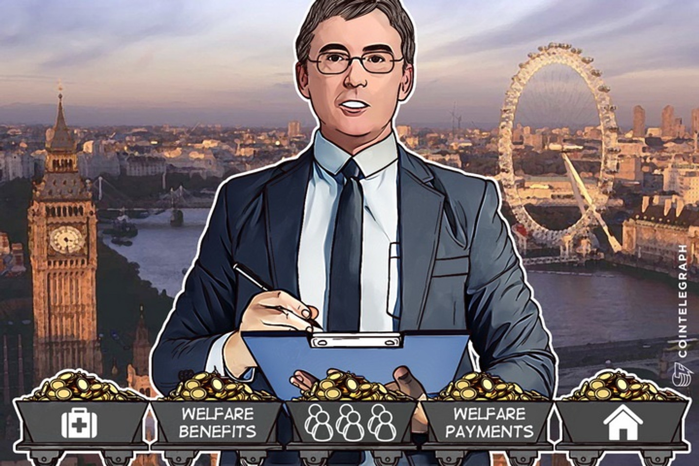 Trap to Spy on Benefits Spending? UK Tests Blockchain for Welfare Payments