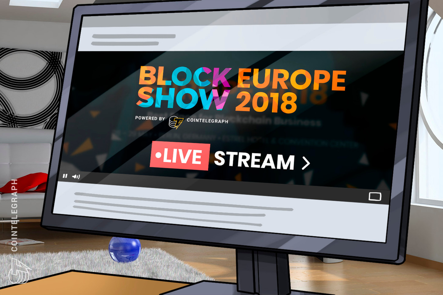 BlockShow Europe 2018 Kicks Off in Berlin, Join Live Stream
