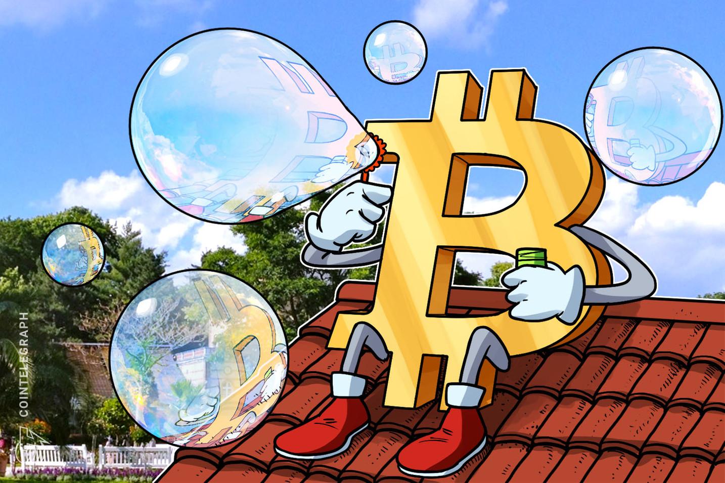 """Ciclo de """"bolha"""" do Bitcoin é mais otimista do que o da Amazon nos dias da era do pontocom"""