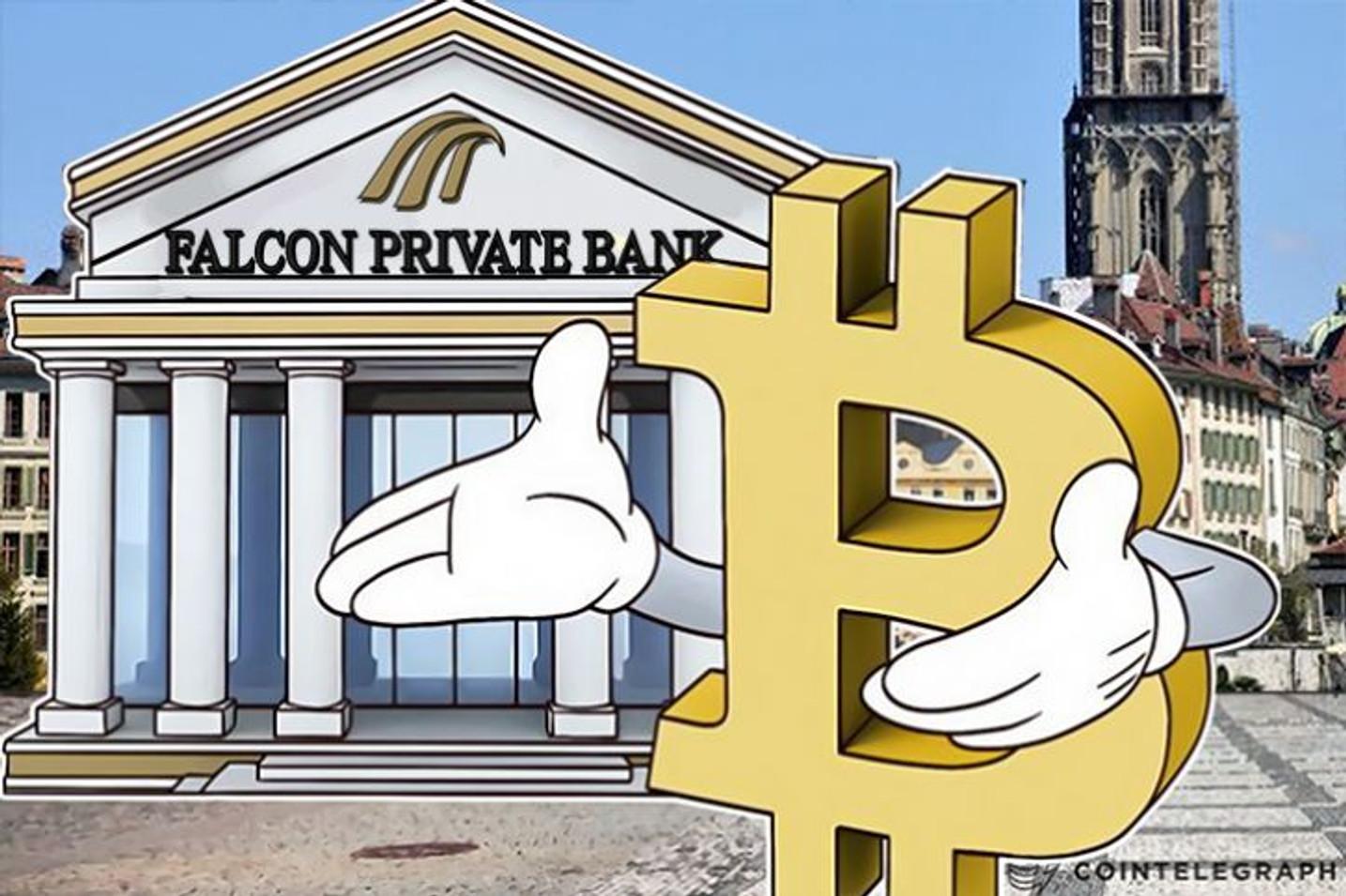 スイス初―Falcon Private Bankが顧客に直接ビットコインを提供するサービスを開始
