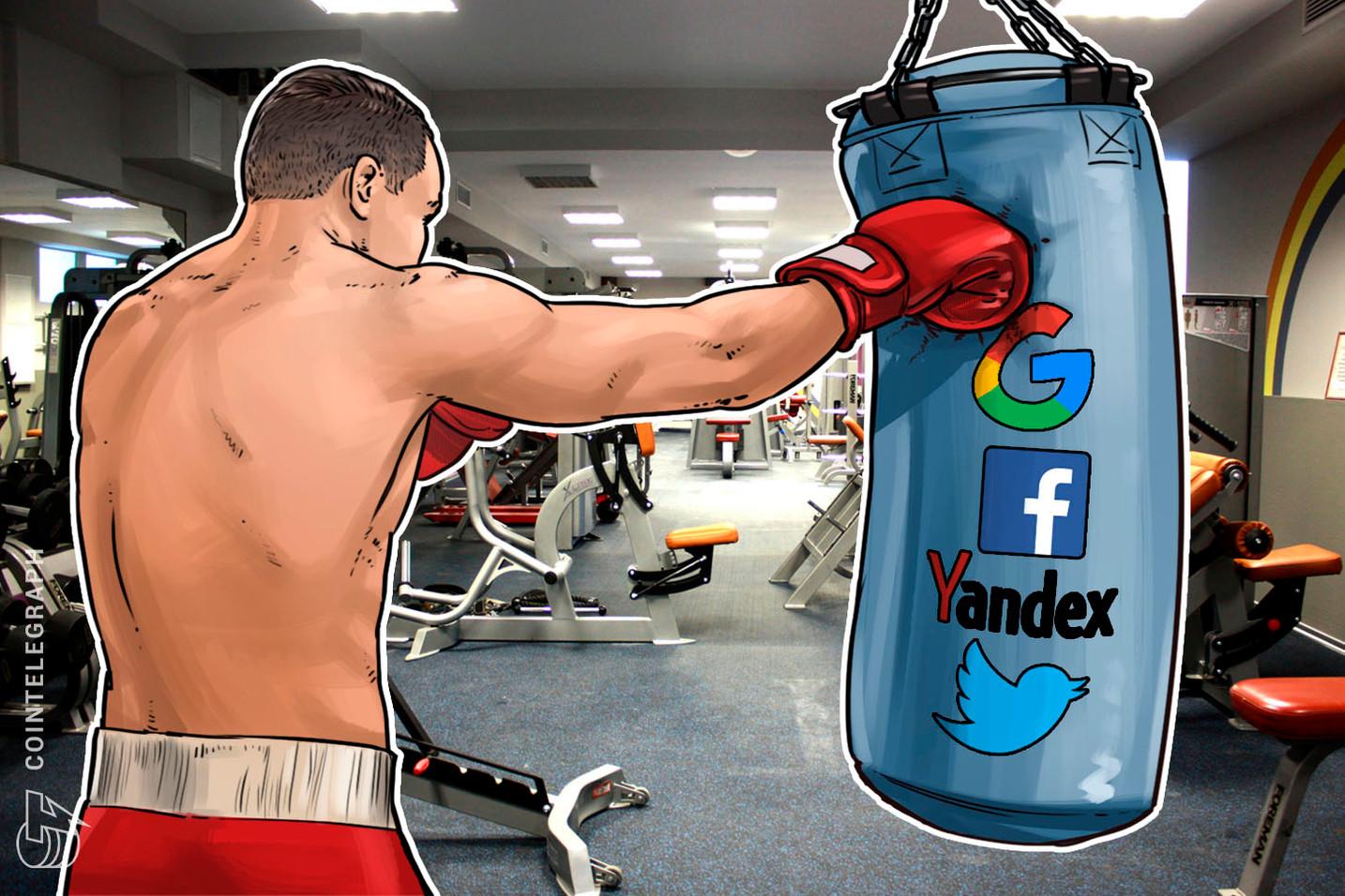 الاتحاد الأوروبي الآسيوي لبلوكتشين يعتزم مقاضاة عمالقة وسائل الإعلام الاجتماعية لحظرها إعلانات العملات الرقمية