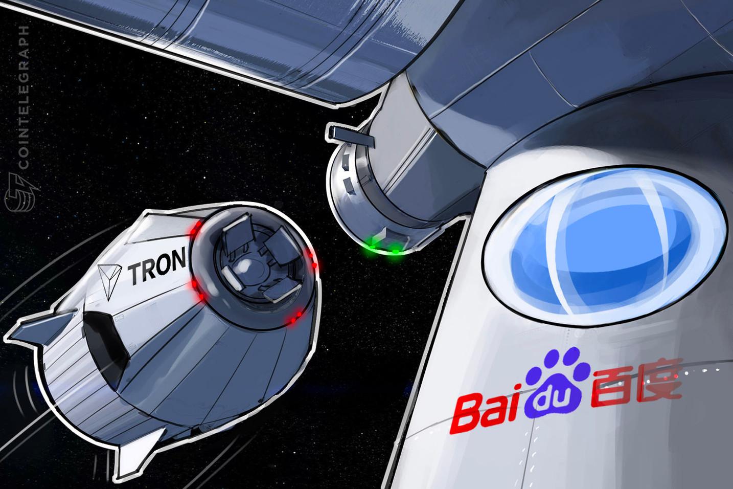 Sin confirmar: TRON se asociará con 'Google de China', Baidu