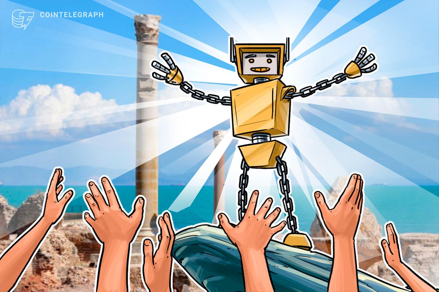 Agência Tunisiana de Internet assina parceria estratégica com plataforma Blockchain