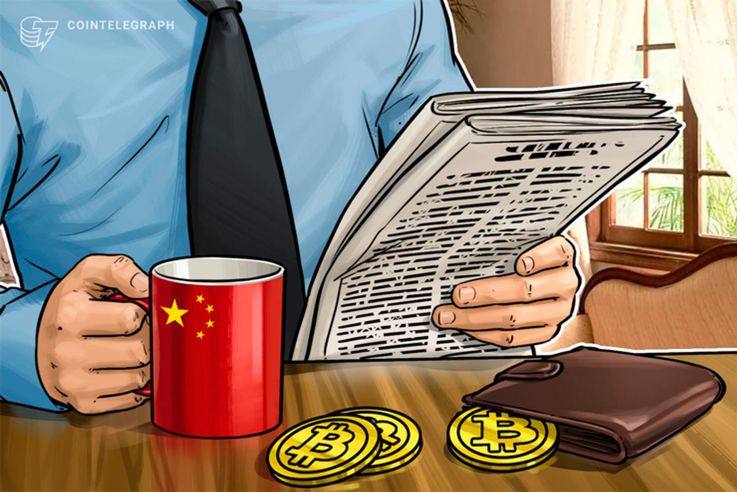 China estaria perto de 'legalizar' Bitcoin e criptomoedas emitindo licença para exchanges