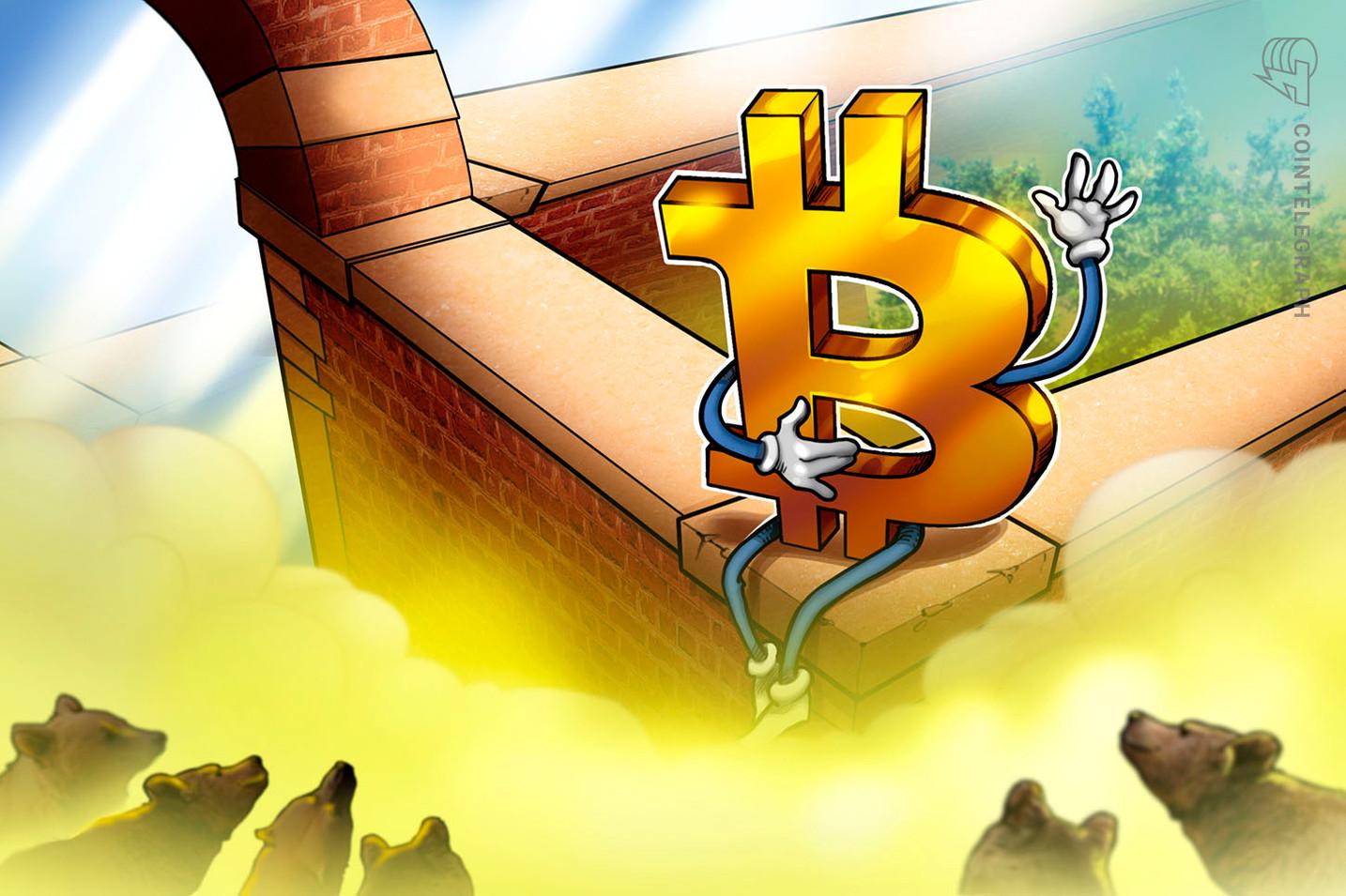 仮想通貨ビットコインは9000ドルに回復できるか?投資家のセンチメントはいまだ弱気