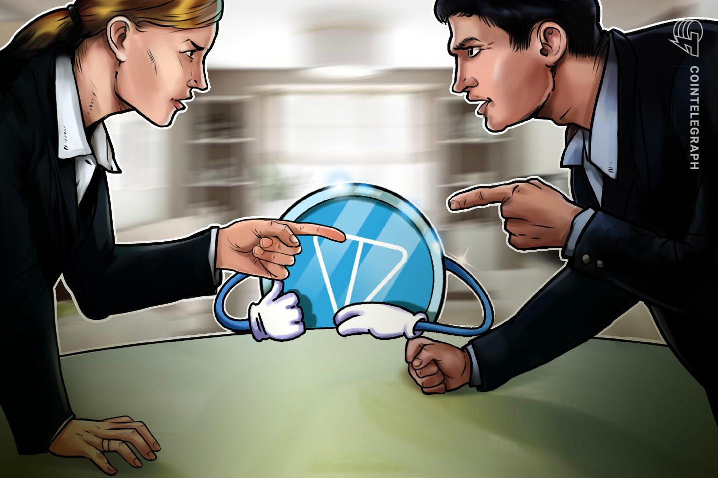 Redacciones son concedidas en el caso de Telegram para proteger a participantes de su ICO