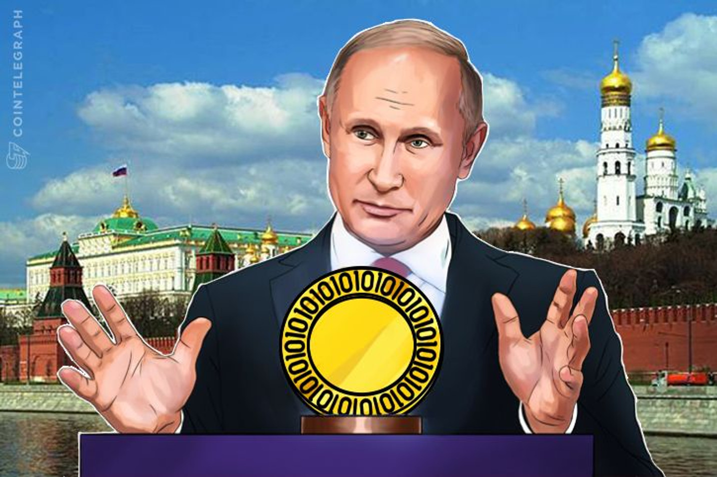 Russia: Vladimir Putin Signals Obligatory Cryptocurrency Regulation Will Begin 'July 1'