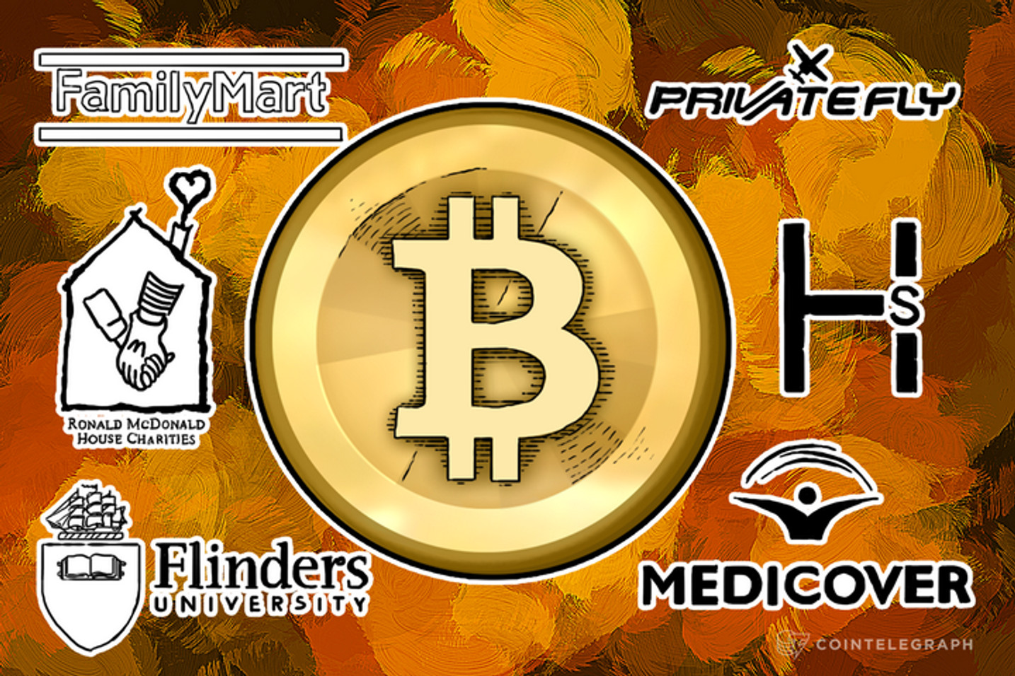 New Bitcoin Merchants and Businesses: The Grid, PrivateFly, Flanders University, Ronald McDonald House and More