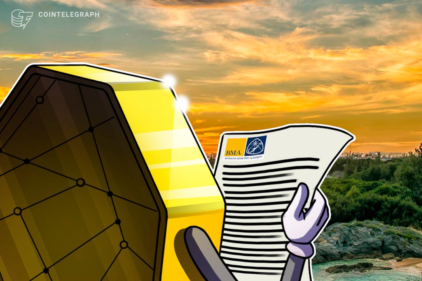 Regulador Financeiro da Bermuda divulga projeto de regulamento para serviços de custódia cripto