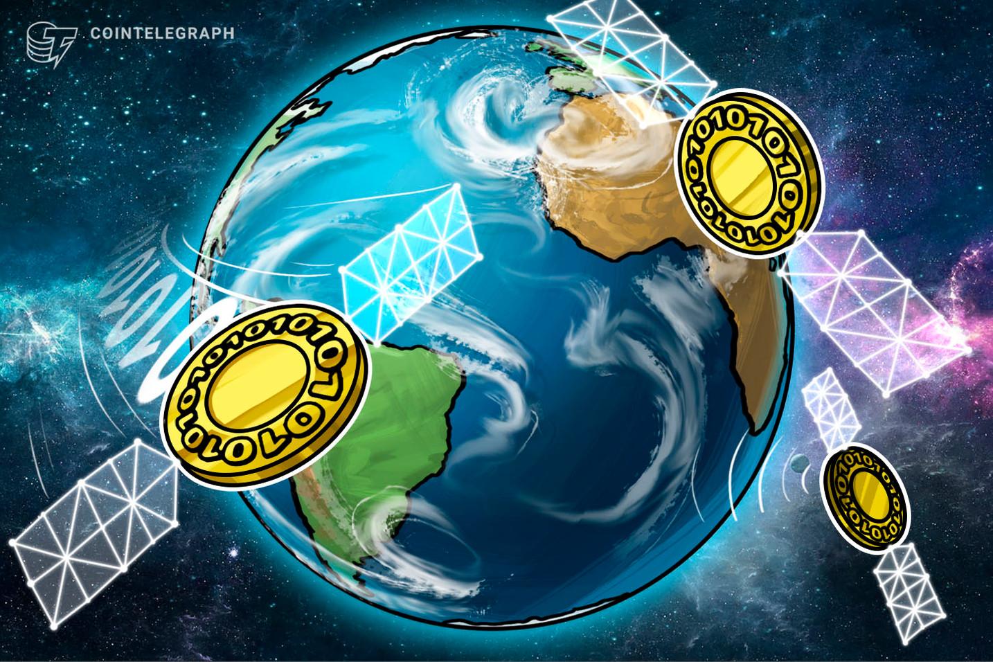 Blockstream lanza quinta transmisión de blockchain de Bitcoin por satélite desde el Espacio