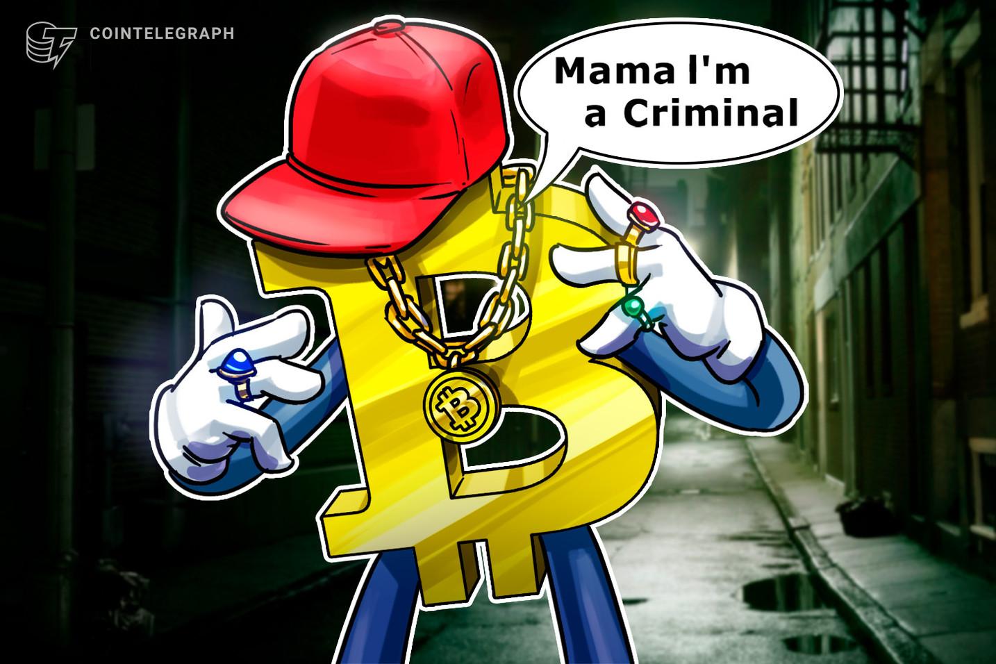仮想通貨犯罪の95%はビットコインがらみ、米調査