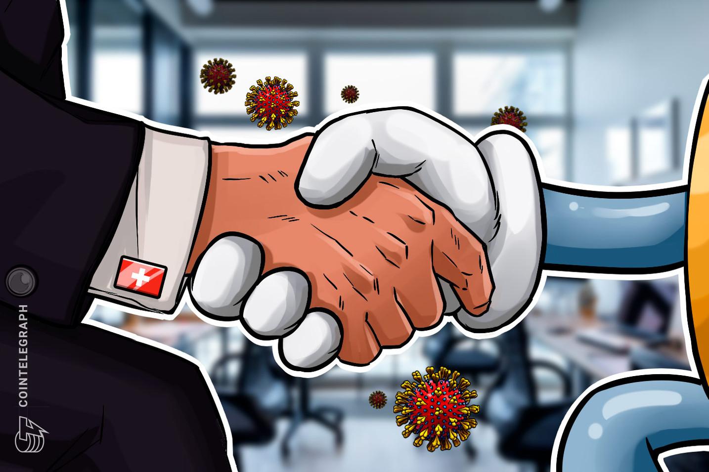 وادي العملات المشفرة السويسري المتعسر يطلب مساعدة الحكومة