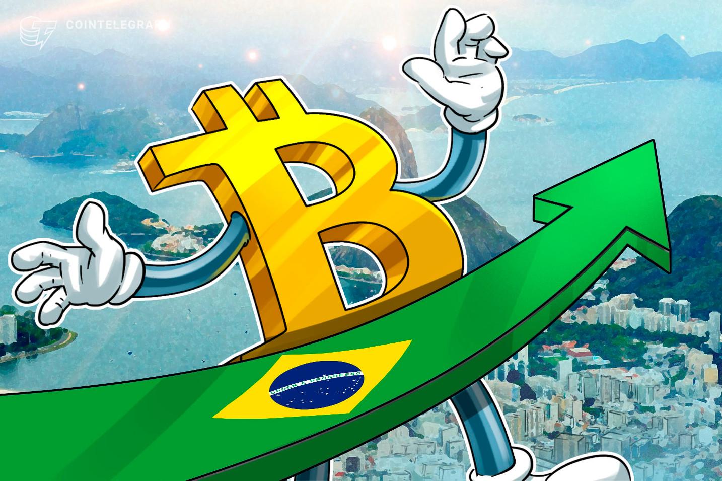 Disparada do dólar e alta internacional levam Bitcoin a valorização mais de 30% no Brasil em janeiro