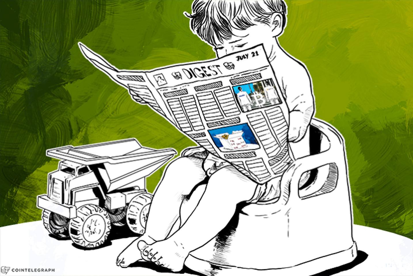 JUL 21 DIGEST: BitX Raises US$4M from Africa's Largest Firm; OpenBazaar Prepares for November Launch