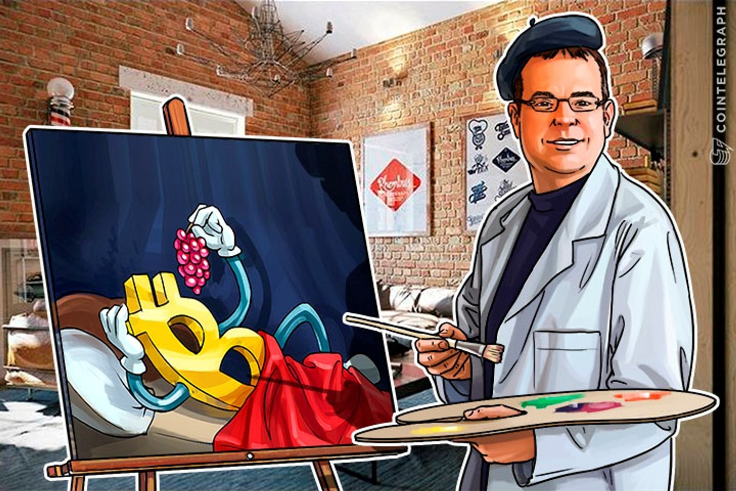 Making Bitcoin Beautiful: Cryptoart Combines Art With Bitcoin Wallets