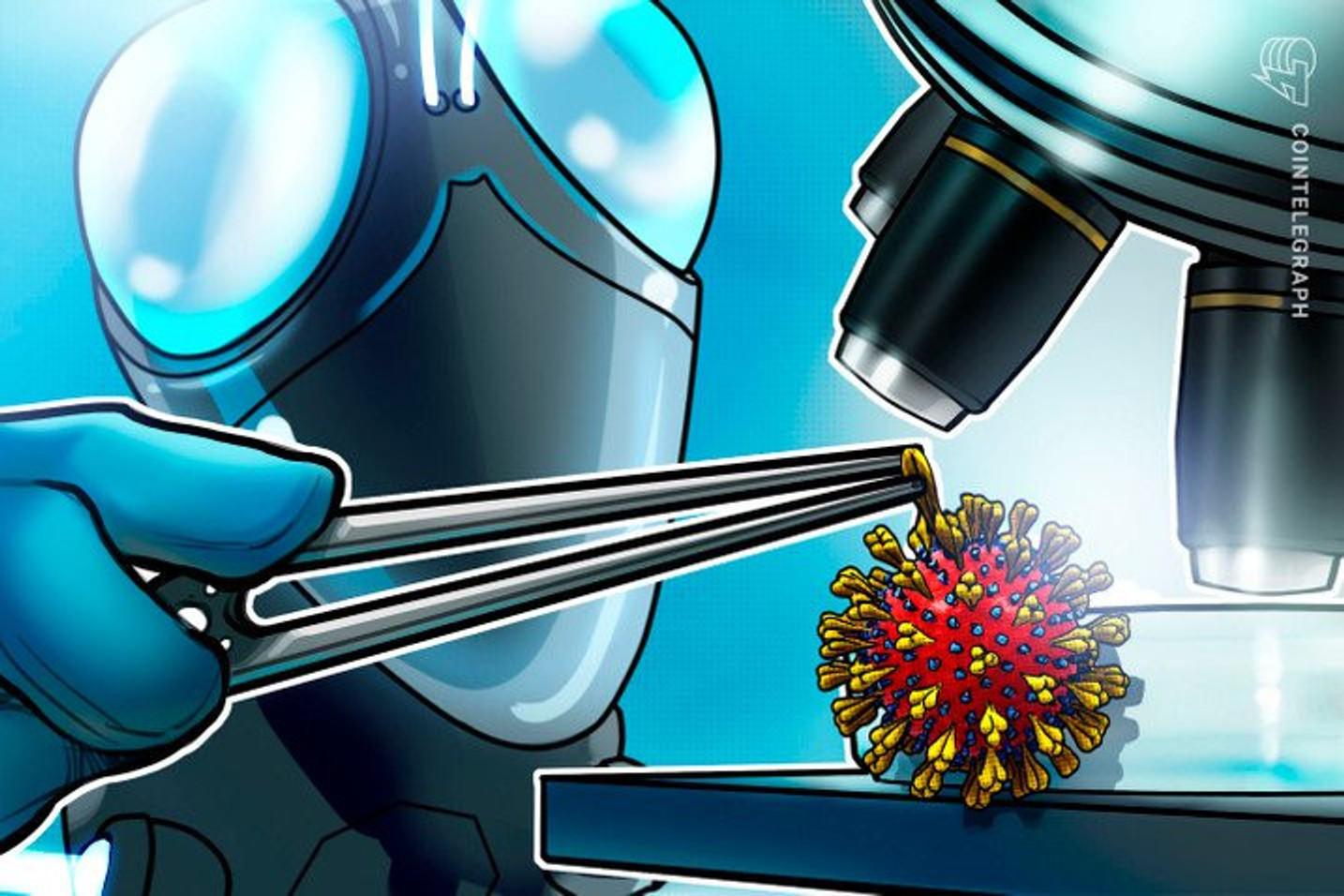 Tecnologia blockchain pode ajudar na prevenção de novas pandemias como a do coronavírus, diz especialista