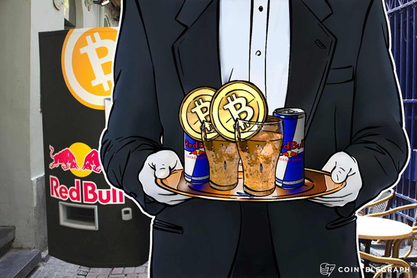 Bitcoin-Only Red Bull Vending Machine Goes To Hackers Congress
