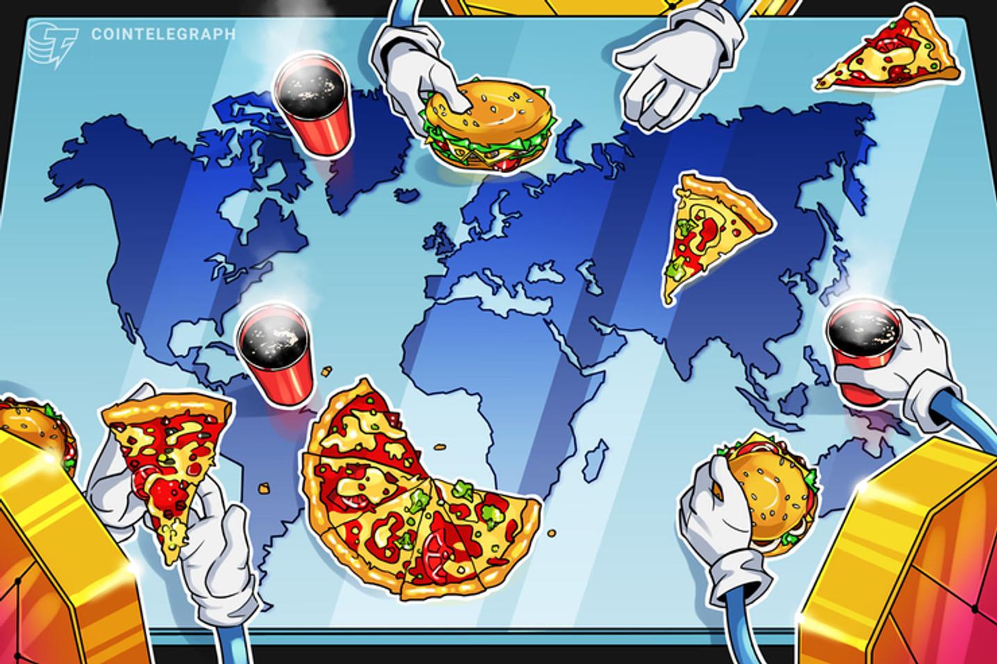 Tiendas de todo el mundo que aceptan criptomonedas, desde pizzas hasta viajes